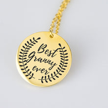 Load image into Gallery viewer, Best Granny Ever charm necklace