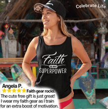 Load image into Gallery viewer, Celebrate Life Ladies Inspirational Racerback Tank