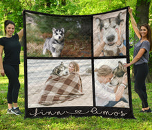 Load image into Gallery viewer, Dog Mom Quilt 1