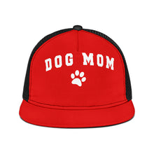 Load image into Gallery viewer, Dog Mom Trucker  Black