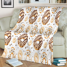 Load image into Gallery viewer, White Chocolate Doughnuts Blanket