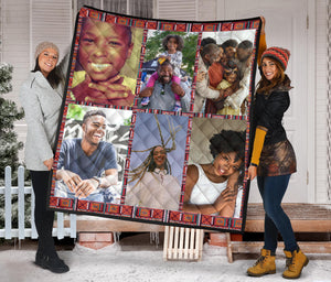 African Quilt Family