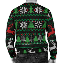 Load image into Gallery viewer, Ugly Christmas Red Green Black Men's Sweater