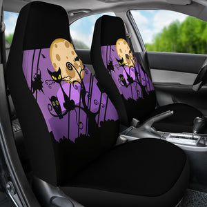 Halloween Custom Car Seat Covers