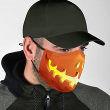 Load image into Gallery viewer, Halloween Pumpkin Jack O'Lantern Smile