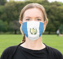 Load image into Gallery viewer, Custom Patriotic Guatemala Flag Mask, Flag, Reusable, Washable, Mouth Cover, For Men, For Women, For Children, Facemask, Guatemala