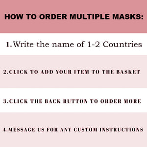 Custom Patriotic Spain Flag Mask, Flag, Reusable, Washable, Mouth Cover, For Men, For Women, For Children, Facemask, Spain mask