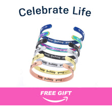 Load image into Gallery viewer, Inspirational Keep Going Magic Mug + Free Matching Bracelet Gift for Her