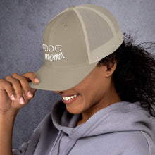 Load image into Gallery viewer, Dog Mom paw And Bone Trucker Cap