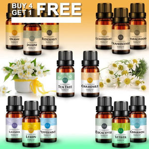 Essential Oils 100% Pure Natural For Diffuser Burner