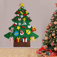 Load image into Gallery viewer, Kids Diy Felt Christmas Tree Xmas Wall Decor - Kid Safe
