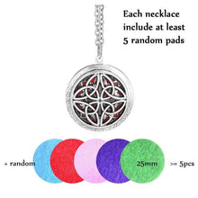 Load image into Gallery viewer, Aromatherapy Essential Oils Locket