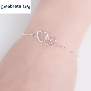 Dog Heart Paw Rescue Bracelet