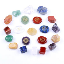 Load image into Gallery viewer, 7 Chakras Healing Stones Set