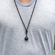 Load image into Gallery viewer, Rainbow Eye Obsidian Necklace Offer