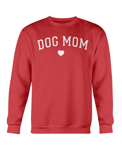 Dog Mom heart White Font Fuel