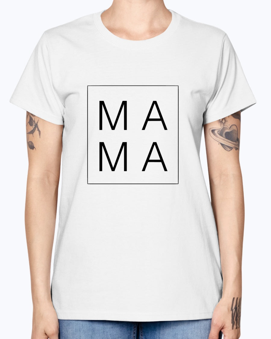 Mama Gildan Ladies Missy T-Shirt