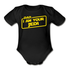 Load image into Gallery viewer, Dad Jedi Yellow - black