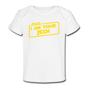 Dad I Am Your Jedi - white