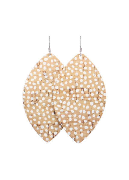 Fawn Petal Earrings