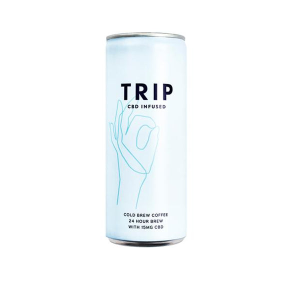 24 x TRIP 15mg CBD Infused Cold Brew Coffee Drink 250ml