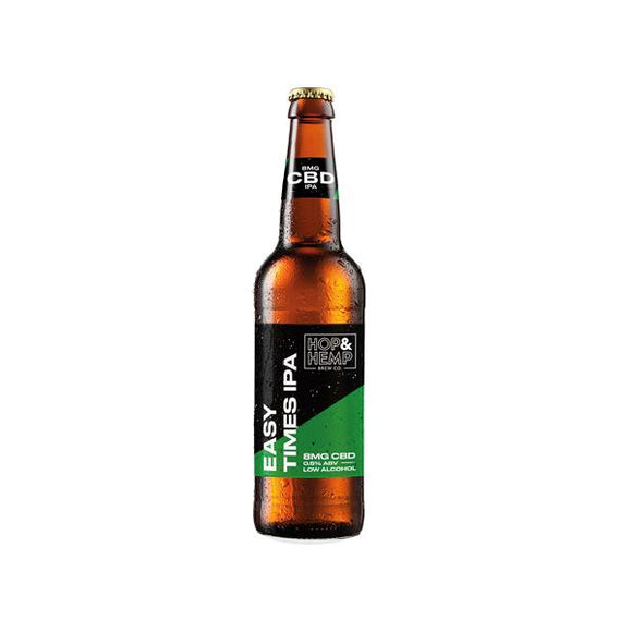 Hop & Hemp 8mg CBD Easy Times IPA 330ml