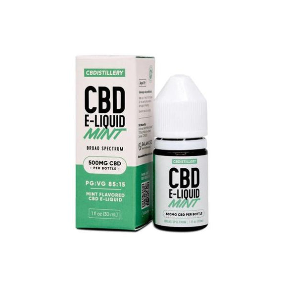 CBDistillery 1000mg CBD E-Liquid 30ml (85VG/15PG)