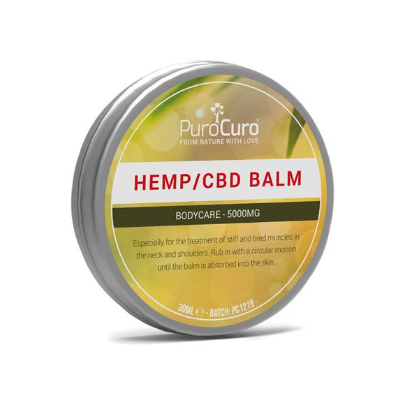 PuroCuro CBD Balm 5000mg CBD 30ml