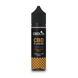 CBDLife 250mg CBD 50ml E-Liquid (70VG/30PG)