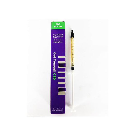 Get Tranquil 13mg CBD Boost 1ml Syringe