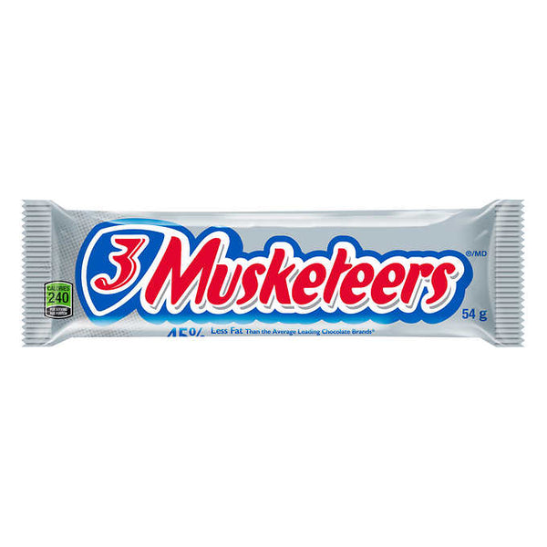 3 Musketeers Chocolate Bars 54 g adea coffee