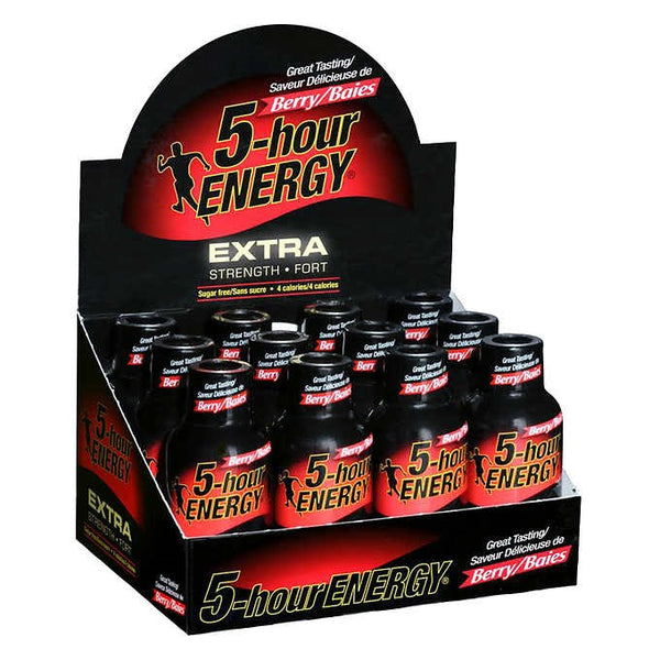 5-hour ENERGY Extra-strength Berry 12 x 57 mL