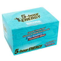 5-hour ENERGY Blue Raspberry Shot adea coffee