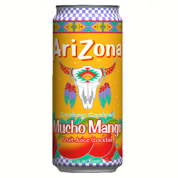 Arizona Mucho Mango Fruit Juice Cocktail 24 × 680 mL