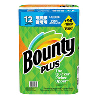 Bounty Plus Paper Towel Pack of 12
