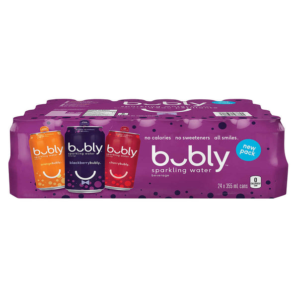 Bubly Sparkling Water Beverage 24 × 355 mL adea