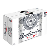 Budweiser Zero Non-alcoholic Beer 24 × 355 mL