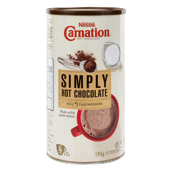 Carnation Simply 5 Hot Chocolate 1.9 kg adea