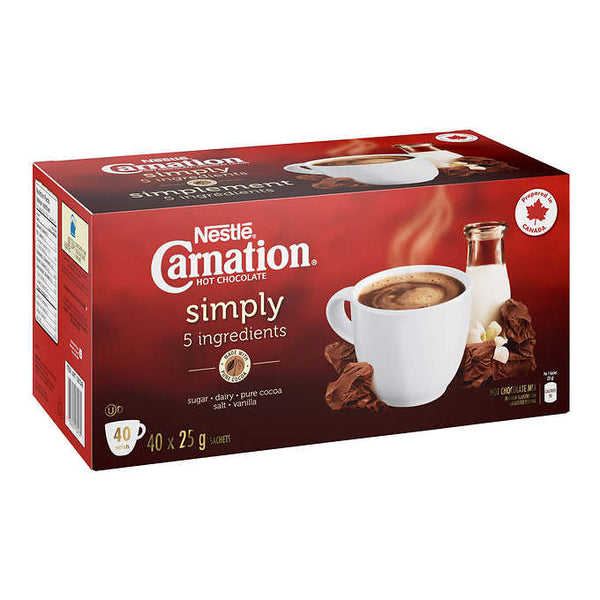 Carnation Simply 5 Hot Chocolate 40 × 25 g