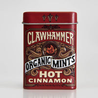 Clawhammer Organic Mints Hot Cinnamon