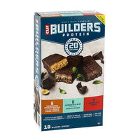 Clif Bar Builders Protein 18 × 68 g