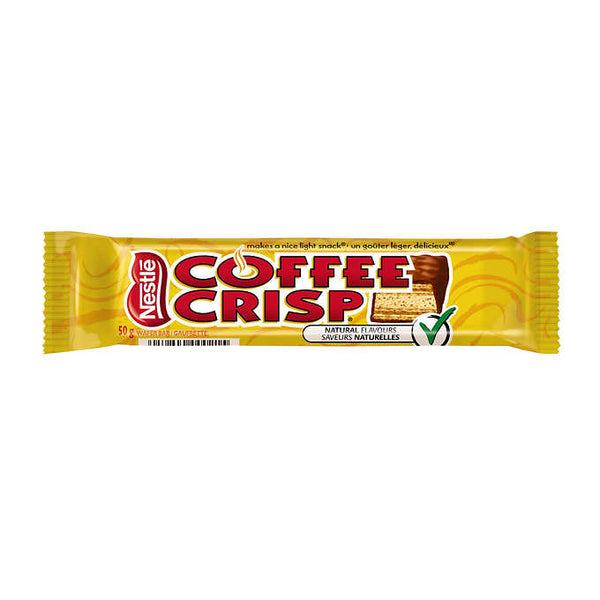 Coffee Crisp Original Chocolate Wafer Bars 50 g