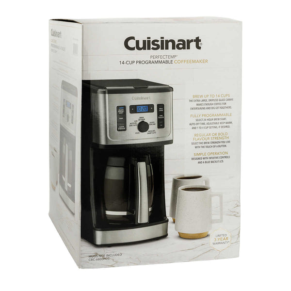 Cuisinart Programmable Coffee Maker 14 cup