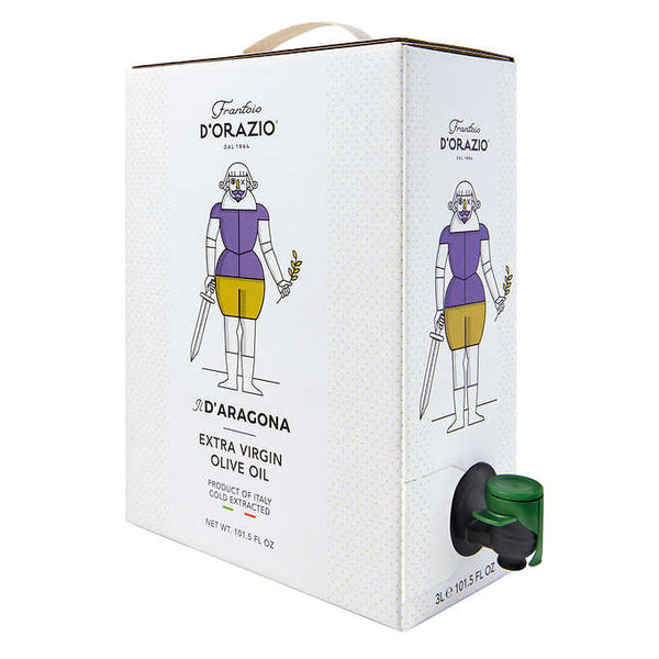 D'Orazio Extra Virgin Olive Oil, 3 L (101.5 oz.)