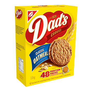 Dad's Oatmeal Cookies 48 packs of 2