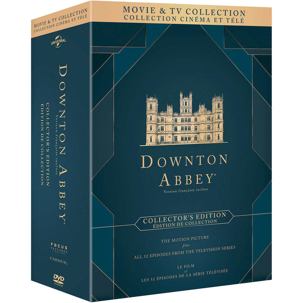 Downton Abbey Movie and TV Collection Collector's Edition DVD tv series adea
