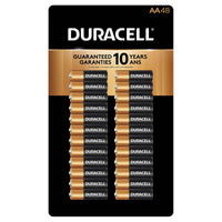 Duracell CopperTop AA Batteries, 48-count