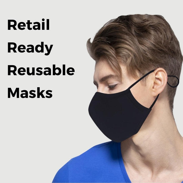 Eco Guardian Reusable Mask with filter pocket