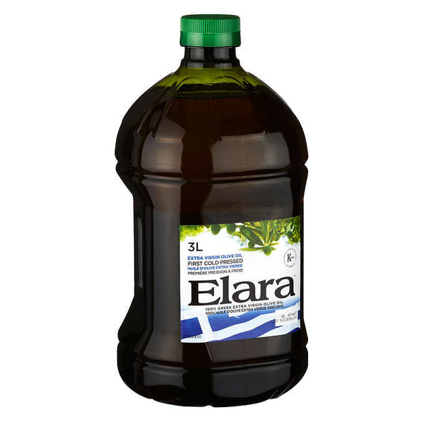 Elara 100% Greek Extra Virgin Olive Oil, 3 L