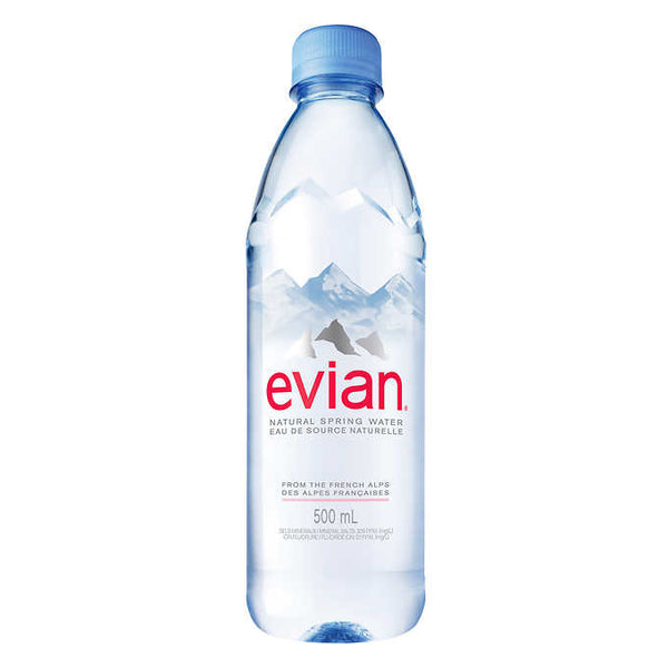 Evian Natural Spring Water 500 mL